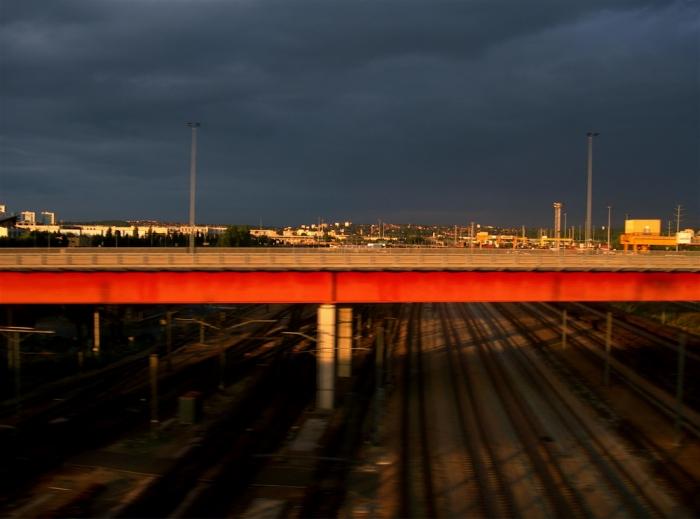 ligne rouge / red line