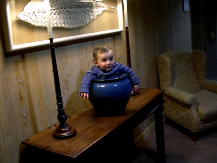 l'enfant pot / pot child