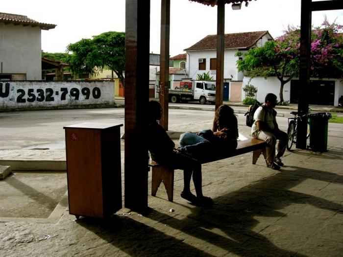 arrêt de bus / bus stop