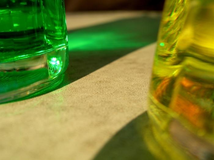 vert & jaune / green & yellow