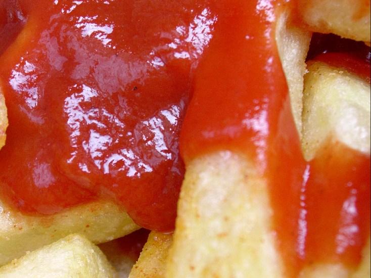 Ketchup frites