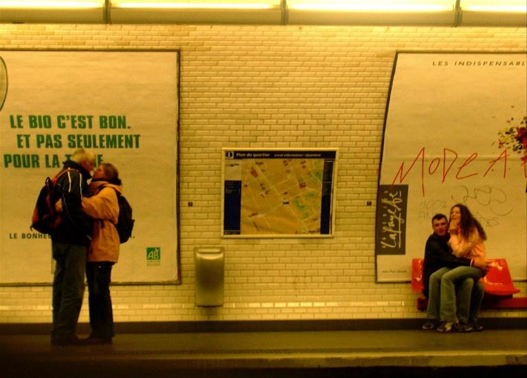 Couples métro