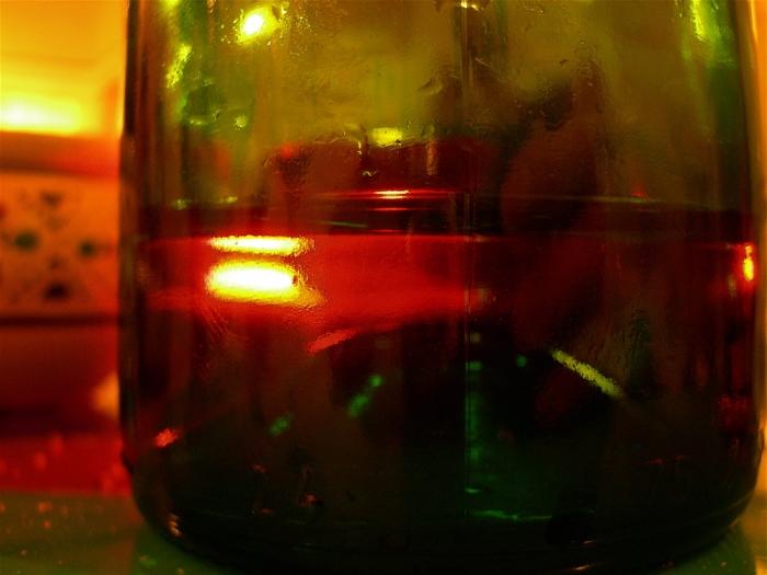 fond de bouteille / bottle bottom
