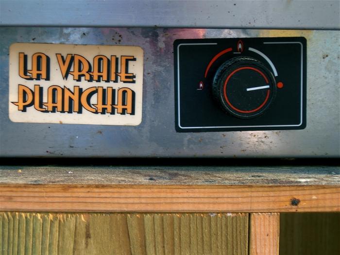 la vraie plancha / the real plancha