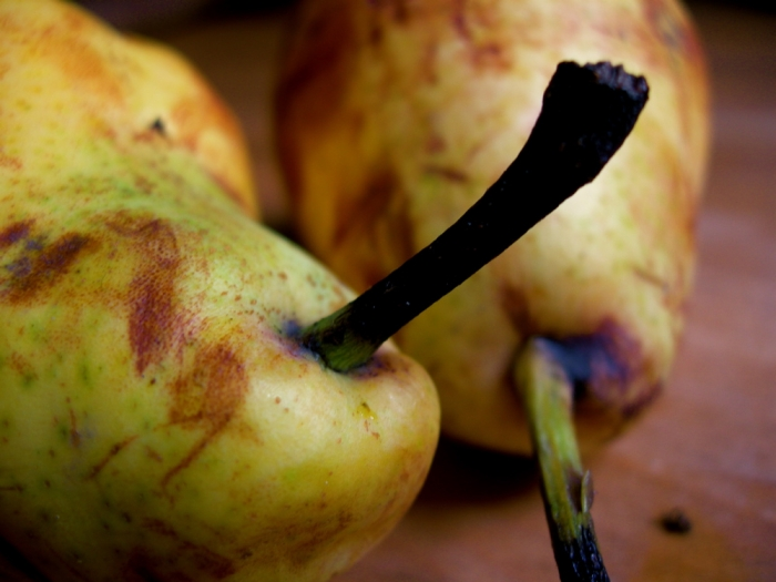 vieilles poires / old pears