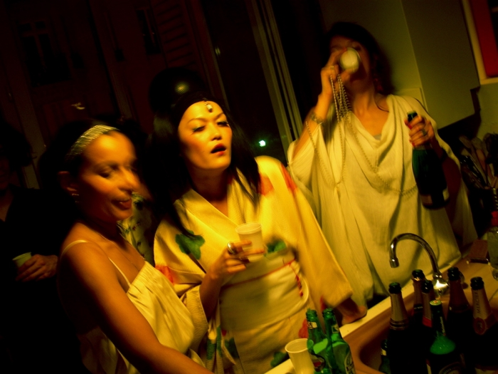 filles et champagne / girls and champagne