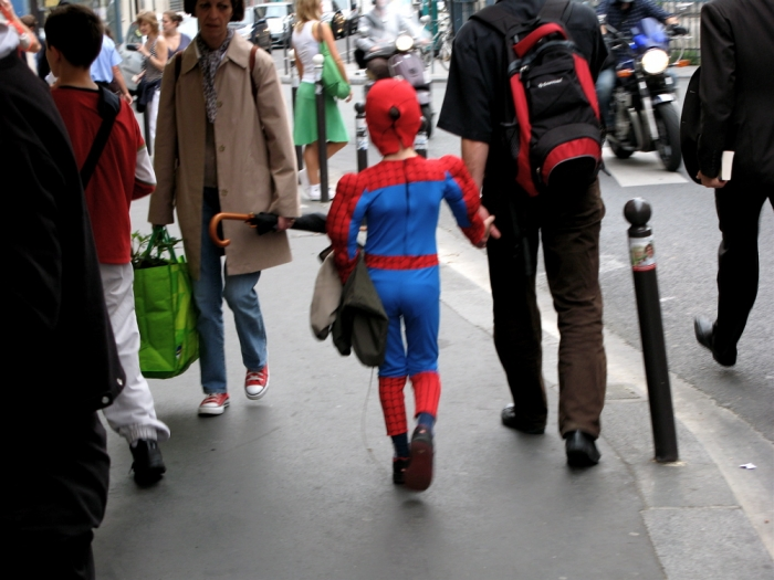 spider-man après l'école / after school spider-man