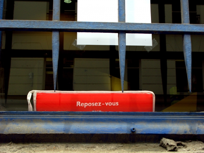 reposez-vous / get some rest