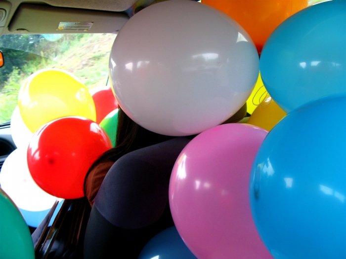 voiture-ballon / balloon car