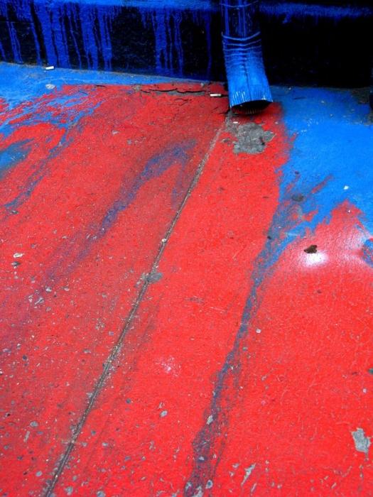 rouge et bleu / red & blue