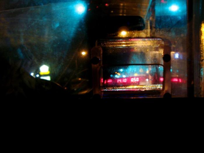 compteur / taxi fare