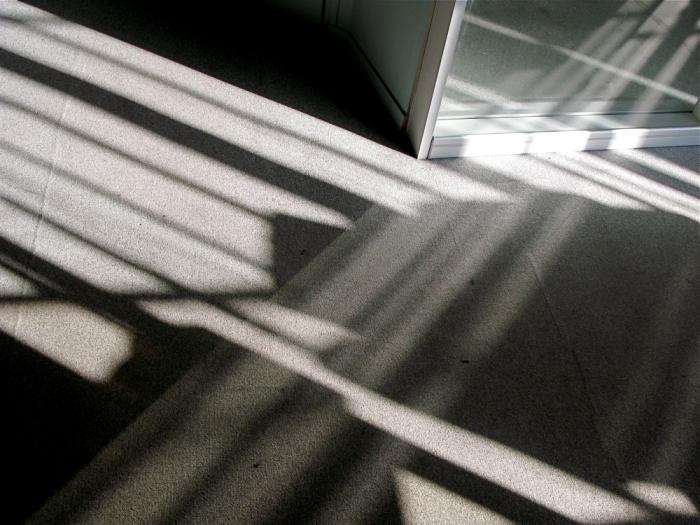 moquette grise / grey carpet