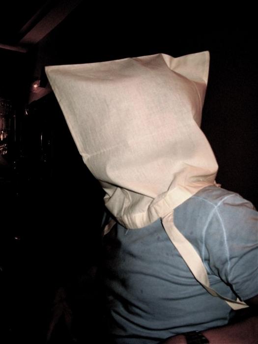 tête de sac / bag head