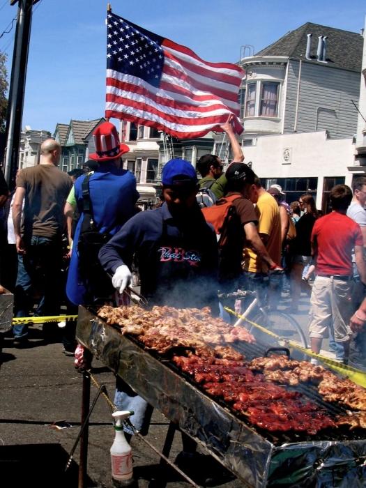 viande & drapeau / meat & flag