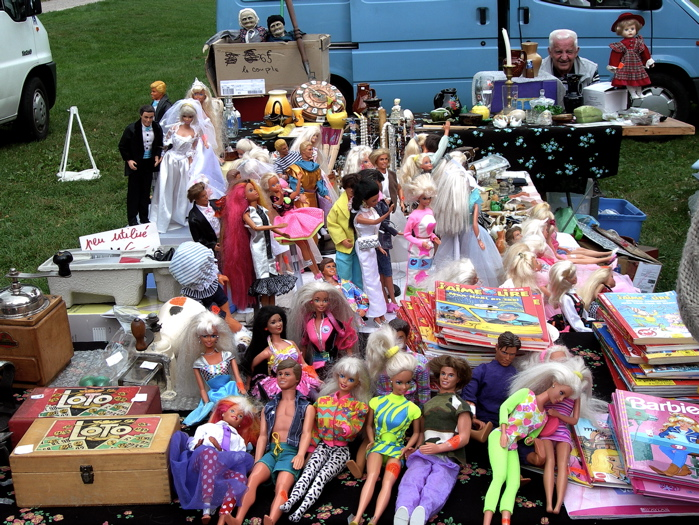 la fete des barbies / barbies party