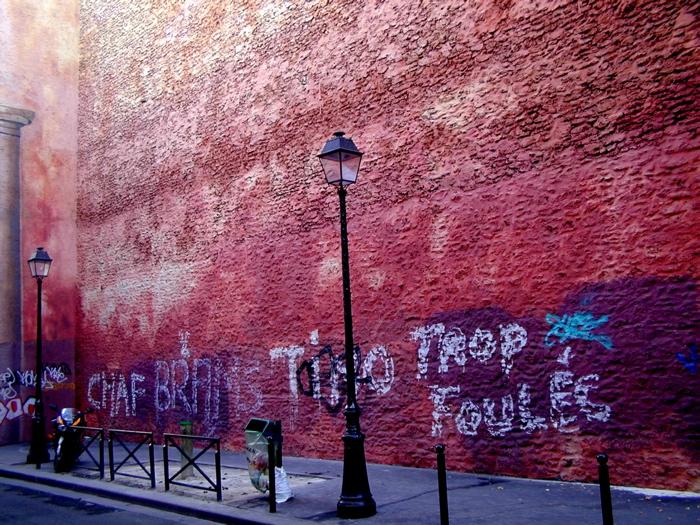 le mur / a wall