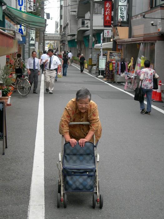 la marche / walking
