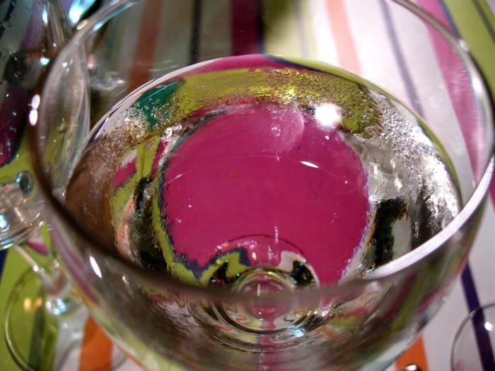 le verre d'eau / a glass of water