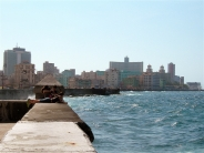 sur le malecon / on the malecon