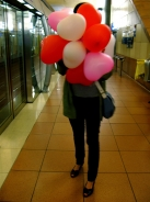 la fille-ballon / balloon girl