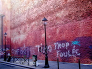 le mur / a wall&#13;1 commentaire.