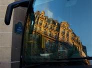 reflet haussmanien / haussmanian reflection